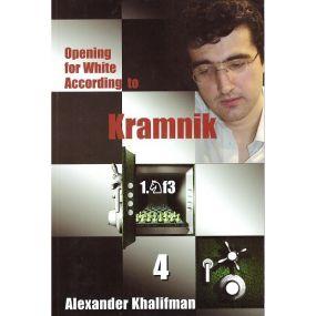 """Khalifman A.""""Opening for White According to Kramnik"""" Zestaw 5 tomów ( K-666/kpl)"""