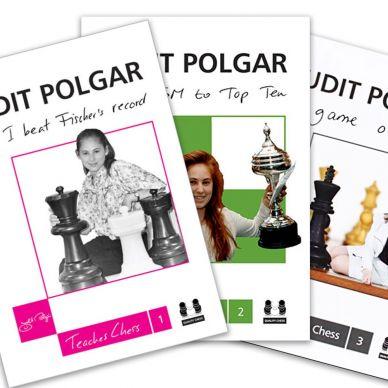 Judit Polgar uczy szachów. Zestaw 3 części ( K- 3540/kpl )