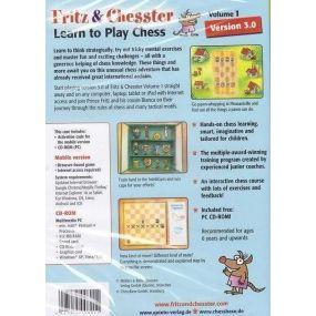 Fritz & Chesster vol 1, version 3.0 - program szachowy ( P-137/F&C)