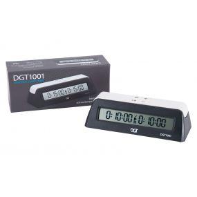 DGT 1001 czarny - Elektroniczny zegar szachowy dla szkół i klubów ( ZS-20/cz )