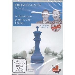 """D'Costa / Murphy """"A Repertoire against the Sicilian"""" Fritztrainer Opening ( P-401 )"""