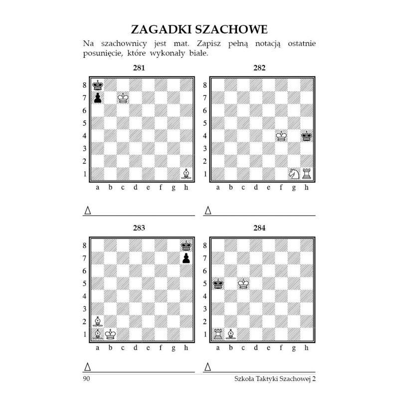 """gm J. Zezulkin, """"Szkoła Taktyki Szachowej 2 (II wydanie). Pierwszy - drugi rok  nauczania"""" ( K-3685/2)"""