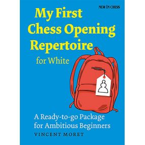 """Vincent Moret - """"My First Chess Opening Repertoire for White"""" (K-5134)"""