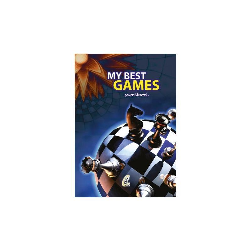 "Notes do zapisu partii ""My Best Games"" - 100 partii ( A-36/2 )"