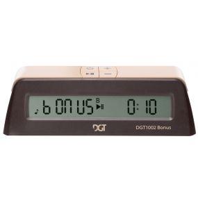 DGT 1002 - Elektroniczny zegar szachowy z opcją dodawania czasu ! ( ZS-27 )