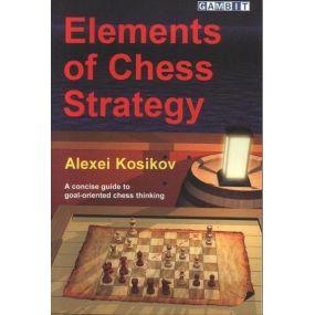 """A.Kosikow """" Elementy strategii szachowej """" ( K-3496 )"""