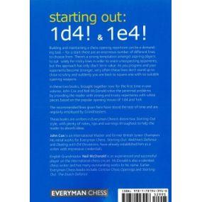 John Cox, Neil McDobnald - Starting out: 1.d4 & 1.e4! ( K-5278 )