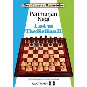 Zestaw 1.e4 vs. Sicilian - 3 części - Parimarjan Negi (K-5322/kpl)