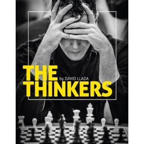 The Thinkers: A Visual Tribute to the Game of Chess - David Llada (K-5336)