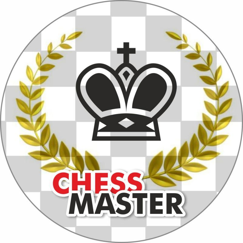 """Magnes """"Chess Master""""  (A-104)"""