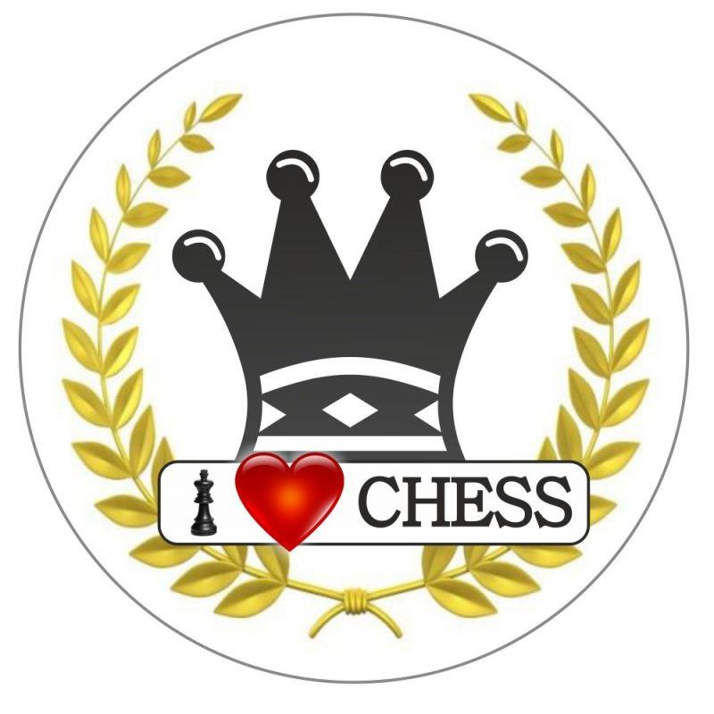 "Magnes ""I LOVE CHESS"" - Figury (A-105)"