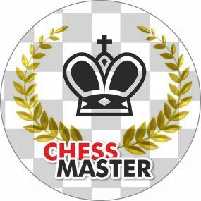 "Przypinka ""Chess Master""  (A-89)"