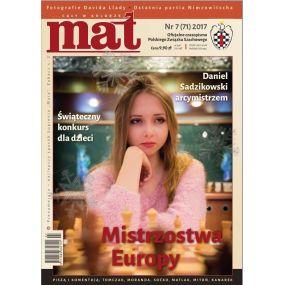 "Czasopismo Szachowe ""Mat"" nr 7 / 2017 (71) (C-002)"