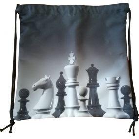 Worek na ramię z motywem szachowym (A-111)