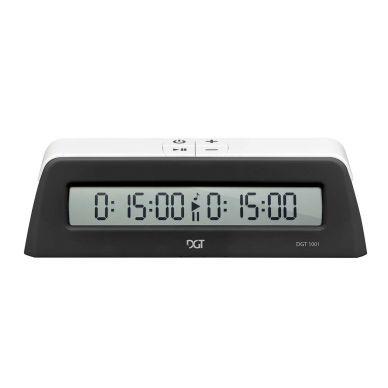 10 x DGT 1001 czarny - Elektroniczny zegar szachowy dla szkół i klubów ( ZS-20/cz/10)