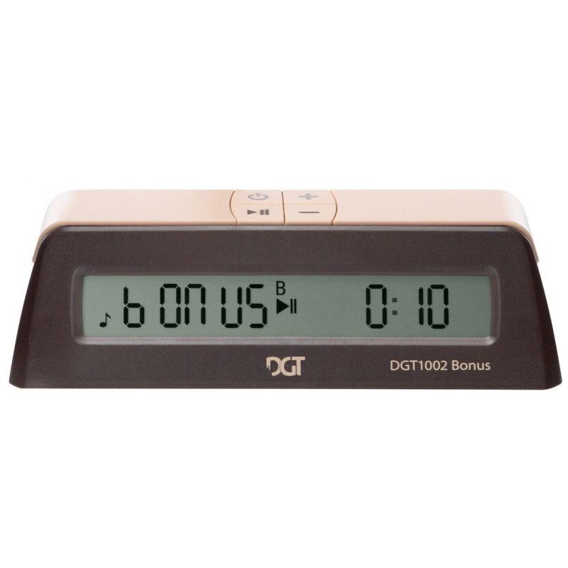 10 x DGT 1002 - Elektroniczny zegar szachowy z opcją dodawania czasu ! (ZS-27/10)