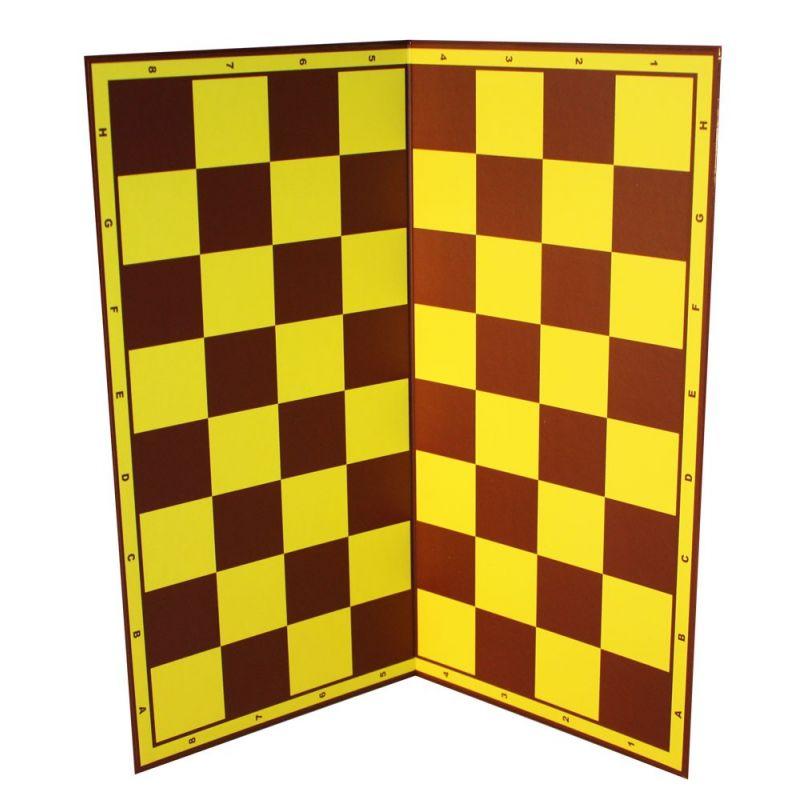 """ZESTAW SZKOLNY """"SZACHOWA KLASA"""": 15x szachy plastikowe z szachownicą + 1x tablica demonstracyjna (Z-36)"""