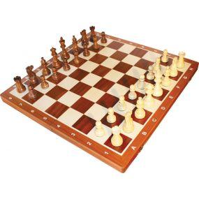 """Szachy turniejowe składane nr 6 """"American""""  - S-002"""