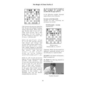 The Magic of Chess Tactics 2: Intuition, Imagination & Precision - C. D. Meyer, K. Müller (K-5411)