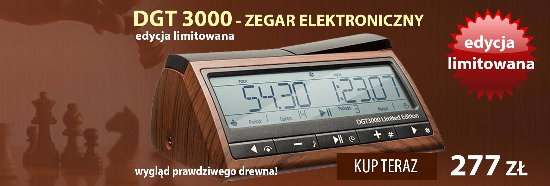 Zegar elektroniczny DGT 3000 - edycja limitowana