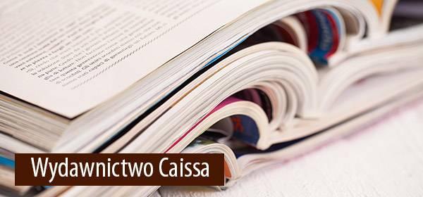 Książki wydane przez firmę CAISSA